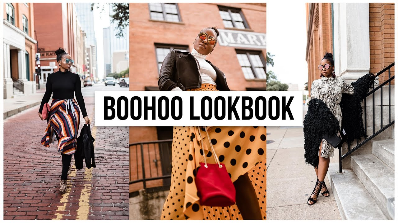 BOOHOO FALL/WINTER LOOKBOOK  2018