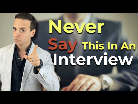 Job Interview ENDING Mistakes! The Things You Should NEVER Say At The End Of The Interview!