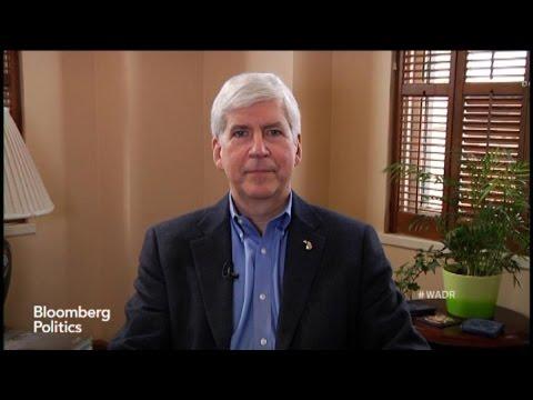 Michigan's Governor Rick Snyder Sure Is One Big Nerd