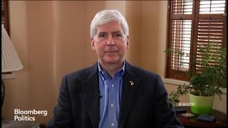 Michigan's Governor Rick Snyder Sure Is One Big Nerd