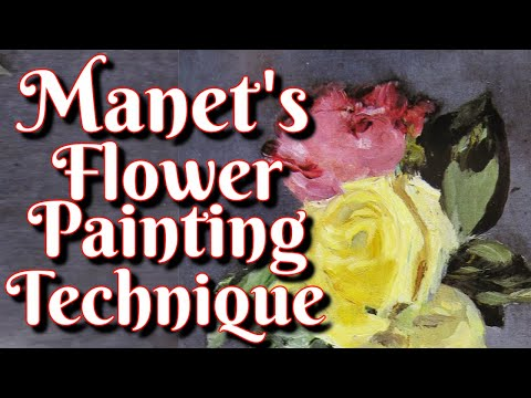 Learn Édouard Manet's Flower Painting Alla Prima Technique in this Art History Documentary Lesson.