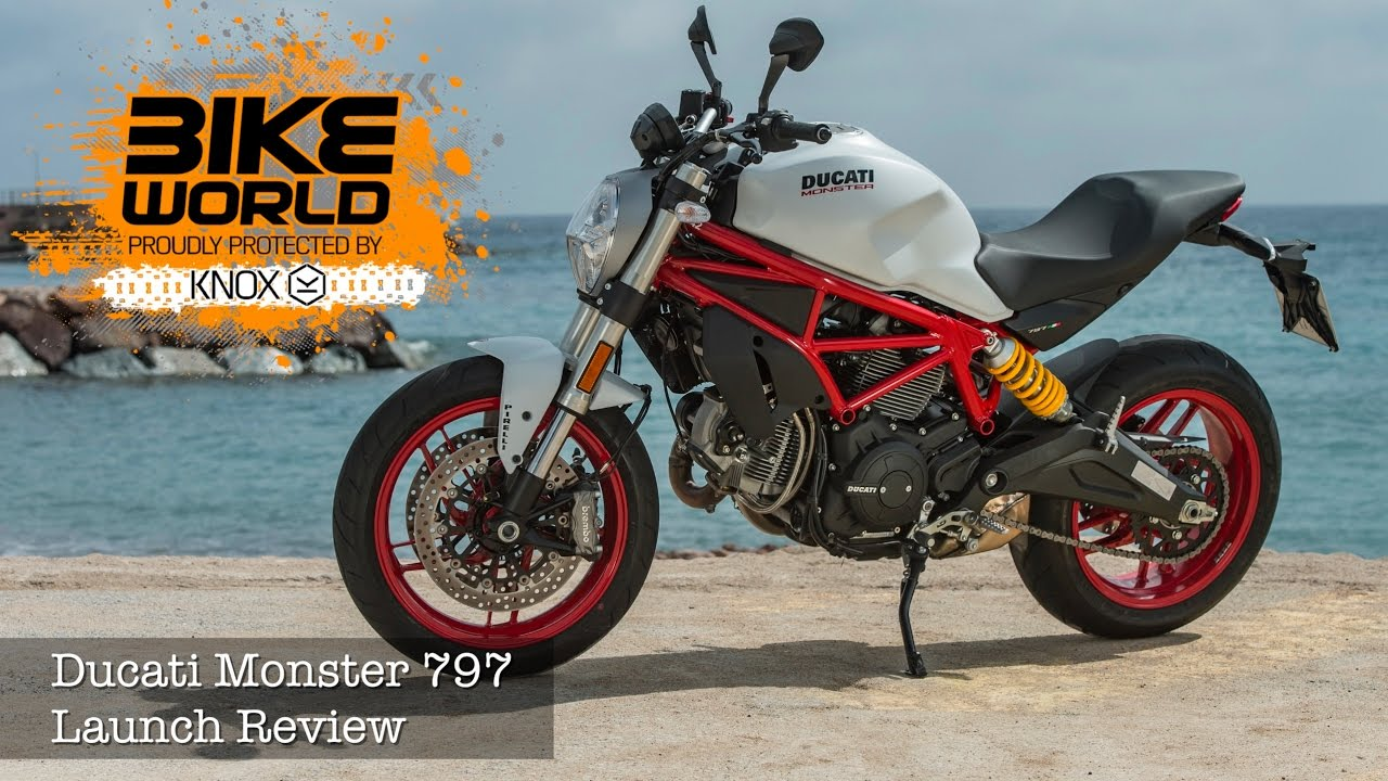 ducati monster 797 first ride | launch review, price from £7895.00