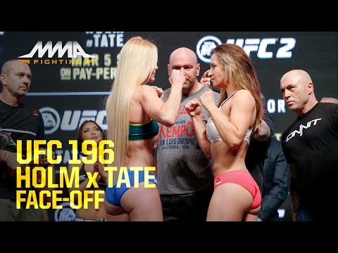 UFC 196 Weigh-Ins: Holly Holm vs. Miesha Tate