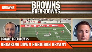 Nathan zegura and the athletics' dane brugler take a look at browns fourth round pick harrison bryant explain why he has potential to be special pl...