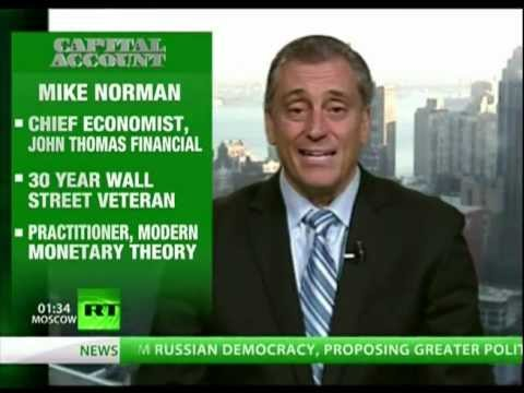 Mike Norman on Austerity in Europe, Debt Deflation, and the Emasculation of Wall Street?