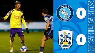HIGHLIGHTS | Wycombe Wanderers 0-0 Huddersfield Town