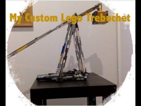 How to Build a Custom Lego Trebuchet