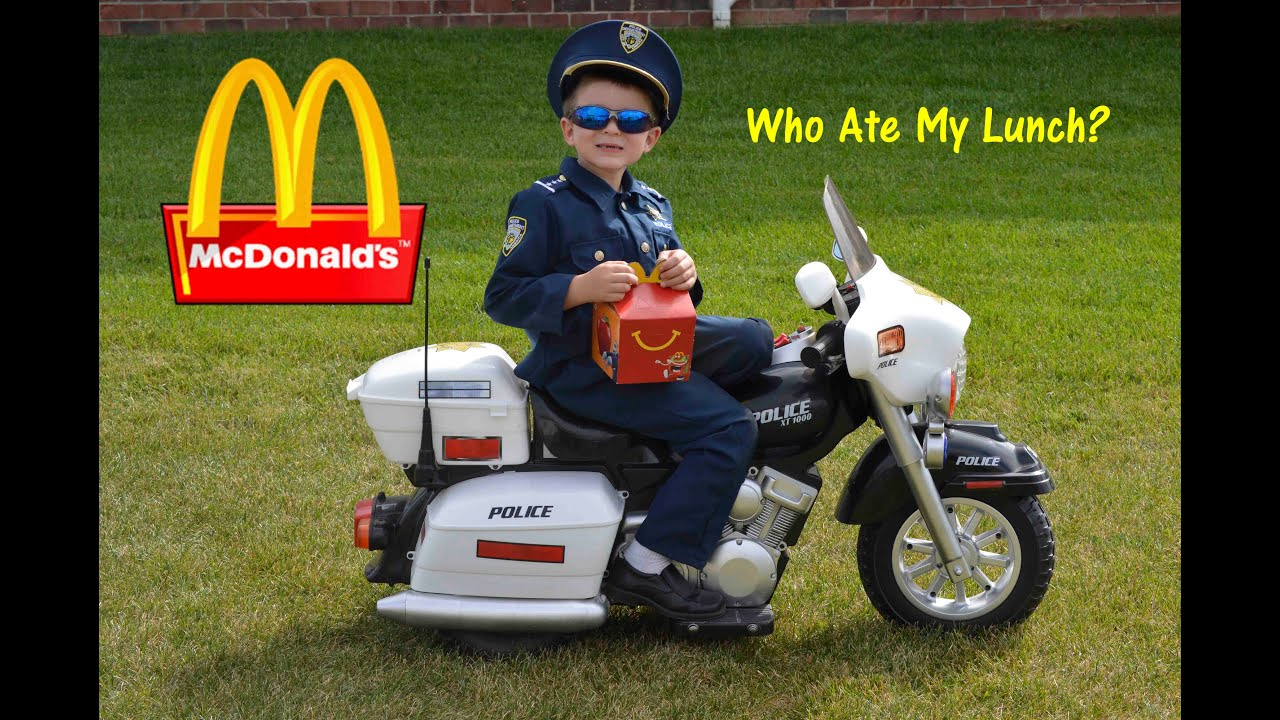KIDZ MOTORZ Police Motorcycle Kid Cops Little Heroes Who Ate My ...