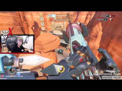 7 year old kid plays Overwatch Competitive with Pharah