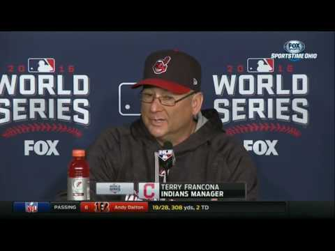 Francona says Danny Salazar will be on Indians' 2016 World Series roster