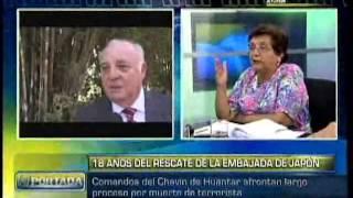 Martha Chavez sobre la operación Chavín de Huántar que se llevó a cabo hace 18 años