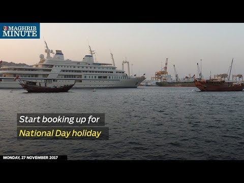 Start booking up for National Day holiday