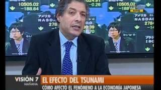 Visión Siete: El efecto del tsunami en la economía japonesa