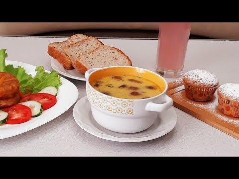 Идея простого и вкусного обеда для всей семьи!Lunch!
