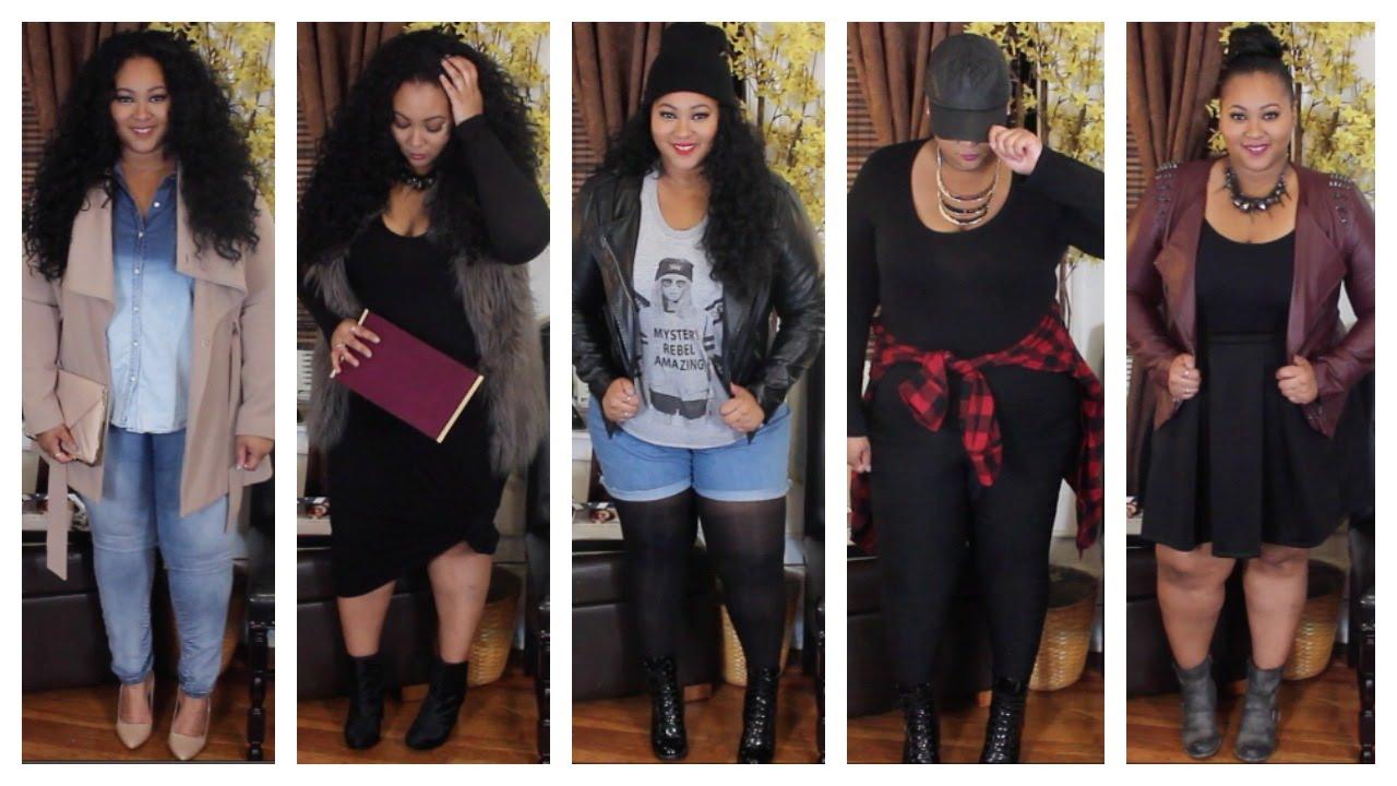 Fall Lookbook 2014 | Plus Size Edition - YouTube