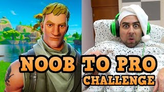 NOOB TO PRO Challenge in Fortnite!