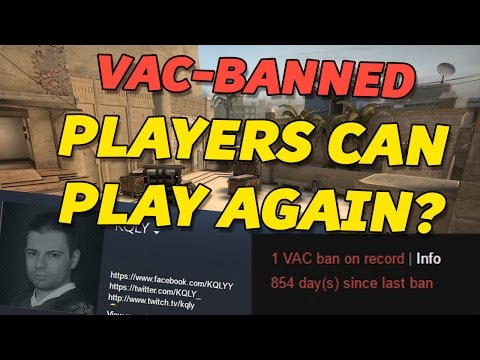 CS:GO - VAC-Banned players allowed to compete again?