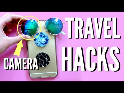 6 TRAVEL LIFEHACKS You've NEVER SEEN Before!!