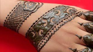5 Minute Mehndi Design For Hand Easy