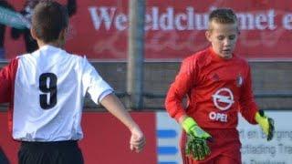 Feyenoord o11 - Brielle o13 | Samenvatting