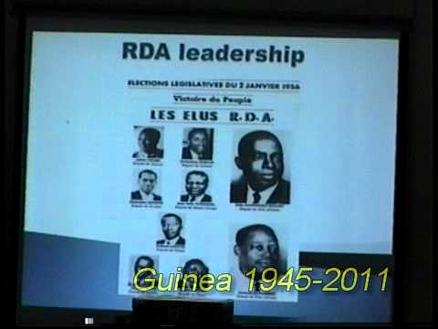 Republic of Guinea - Grassroots of Democracy Forum - Part 1 of 9
