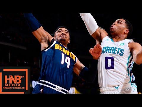 Denver Nuggets vs Charlotte Hornets Full Game Highlights | 01/05/2019 NBA Season