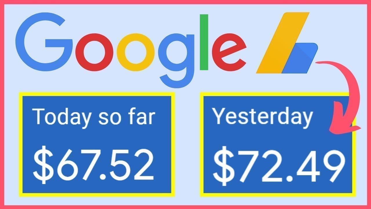 Google AdSense: Earn 67.52$ Per Day in 15 Steps