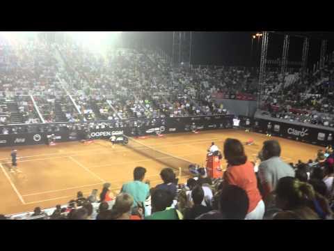Ferrer vs Fognini Rio Open Final Match Point