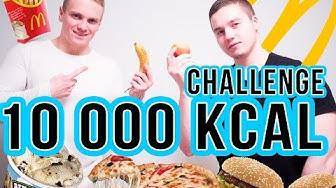 10,000 KALORIT PÄEVAS? | 10,000 CALORIE CHALLENGE