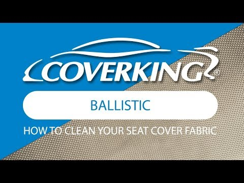 How to Clean Ballistic Fabric  COVERKING®