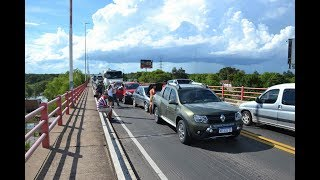 En pocos minutos, tres accidentes sobre el Puente Chaco-Corrientes
