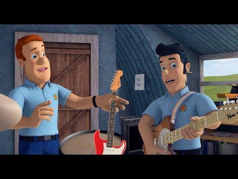 Sam el Bombero en Espanol : Toda la noche sin parar \ Banda de música Pontypandy 🔥 Dibujos animados