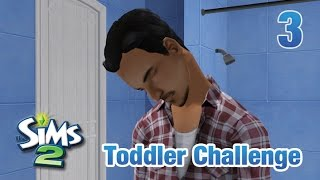 Let's Play The Sims 2 || Seven Toddler Challenge || 3 || Exhausting Potty Training!