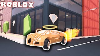 BUYING THE NEW GOLD VEHICLE! (Roblox Jailbreak Update)