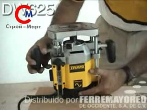 Dewalt dw 625 520 youtube dewalt dw 625 520 greentooth Gallery