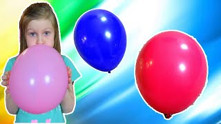 Почему Ульяна грустит? Папа развеселил Ульяну шариками. Видео для детей от Ulyana's Empire