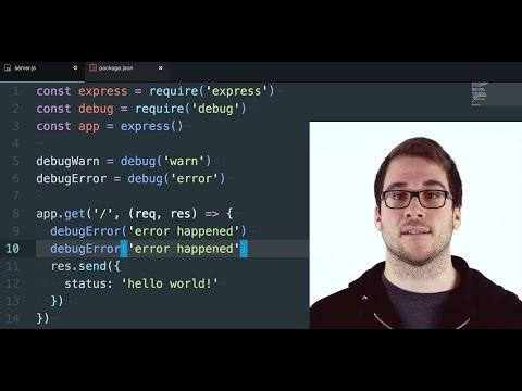 Node.js tutorial for Beginners: Node.js Debugging Made Easy