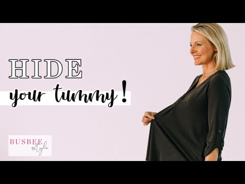The Perfect Way To Hide A Tummy... The Tunic Top (Styled 3 Ways)