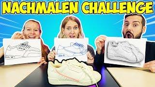 WER ES BESSER NACHMALEN KANN, BEKOMMT ES Challenge! Kaan vs. Kathi vs. Nina
