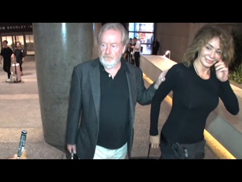 Film Icon Ridley Scott Arrives In Los Angeles
