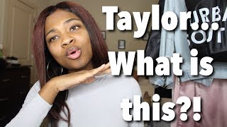 Taylor Swift- Call It What You Want Reaction