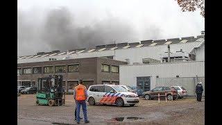 Gietmachine ontploft bij Brabant Alucast