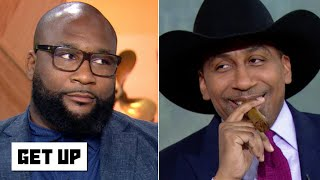 Stephen A. annoys Marcus Spears by basking in Cowboys fans