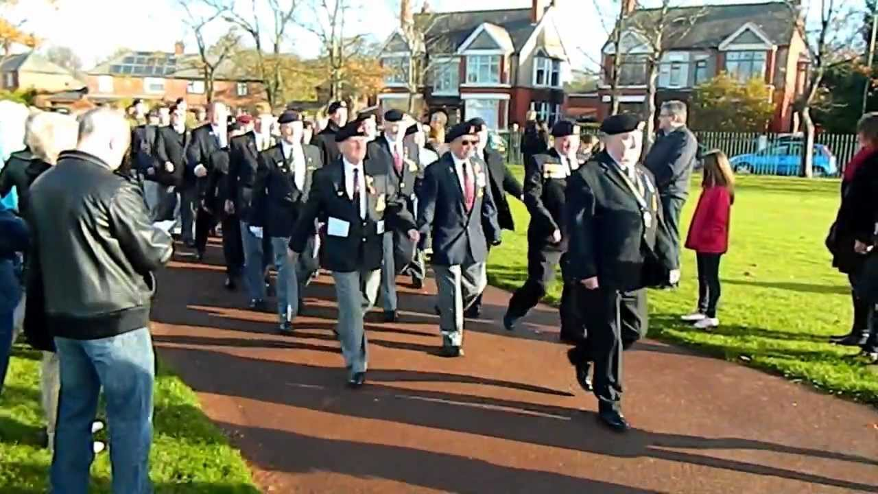 Remembrance Sunday Victoria Park Widnes