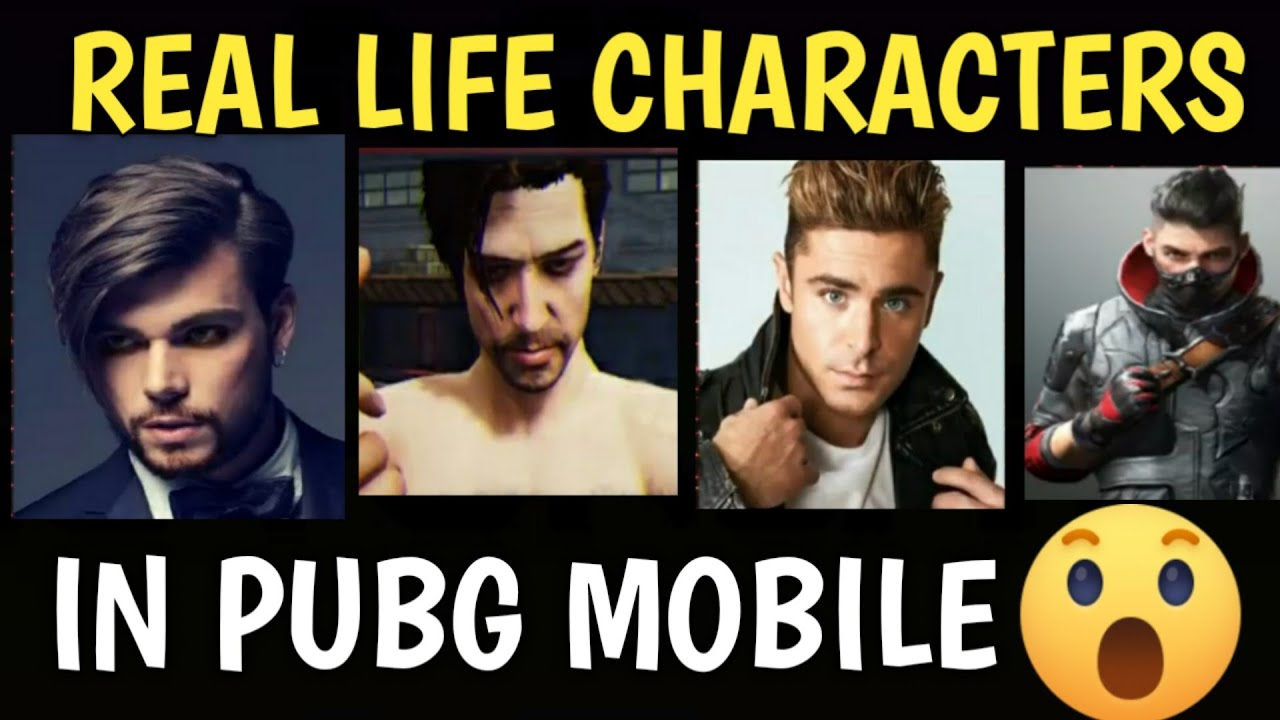 PUBG Mobile Characters In Real Life | Sara | Carlo | Andy | Comment Your Favorite One