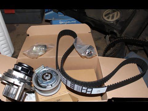 Потек водяной насос! Подробная замена ремня ГРМ на VW passat B6 2.0 FSI