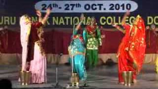 Giddha of Dasmesh Girls College of Education, Badal,Mukatsar, Punjab