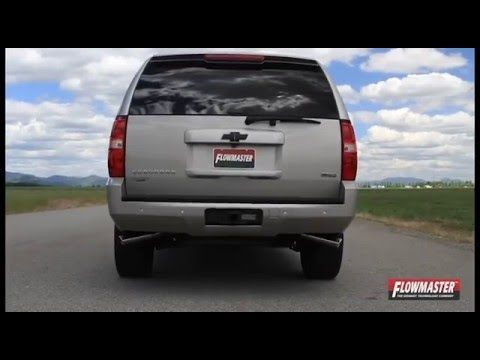 2014 Chevy Tahoe >> 2009-2014 Chevy Avalanche Suburban Yukon GMC Performance Exhaust System Kit Flowmaster 817548 ...
