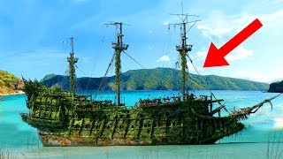 Most MYSTERIOUS Abandoned Ships Discovered!