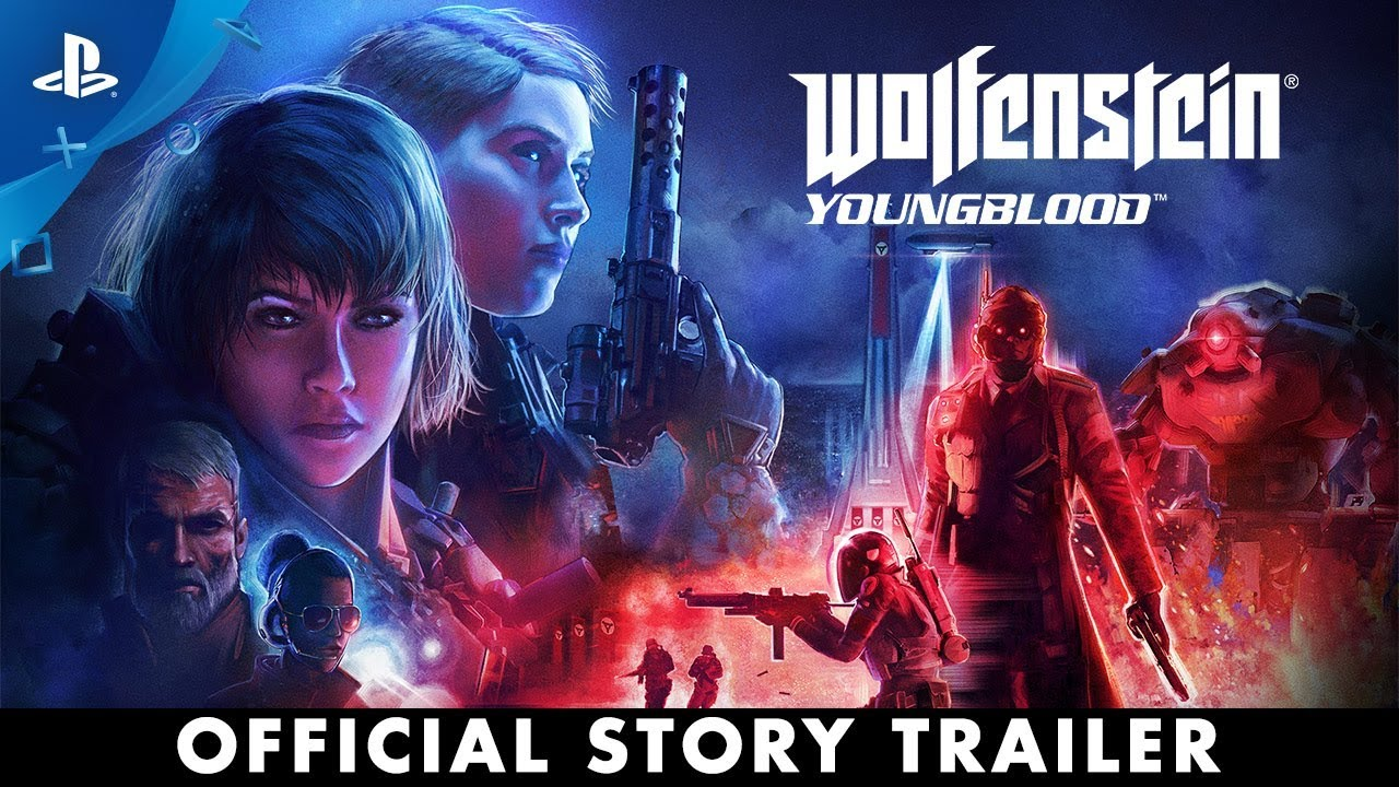 Wolfenstein: Youngblood - Trejler za igru | PS4